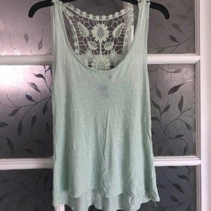 Lightweight Knit & Lace Top